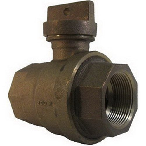 Legend Valve & Fitting T-5500 Lead-Free Brass Curb Stop, 1''