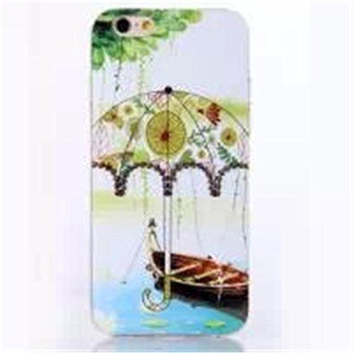 """iPhone 6 4.7"""" Coque , Apple iPhone 6 (4.7"""") Coque Lifetrut® [ Les bateaux de pêche ] [Coussin d'air] [Capsule] TPU souple ** Slim Case TPU Charm NOUVEAU ** Prime Trendy flexible couleur Soft Style Coq"""