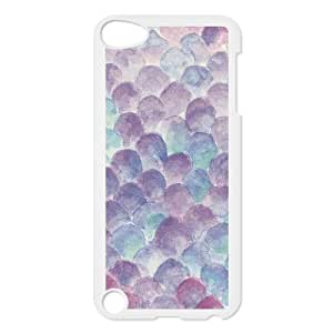Mermaid Scales Ipod touch 5th Back Cover, Protective Plastic Cover For Ipod touch 5