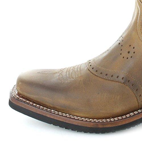 Bottines Boots Sendra Cowboy Tangerine Bottes 11598 Marron Et Femme SBxIa6q
