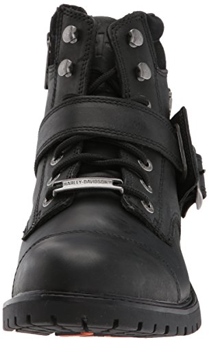 eur Chaussures Bottes Schwarz Harley 44 D93461 Bowers davidson Taille 05nwwqOU
