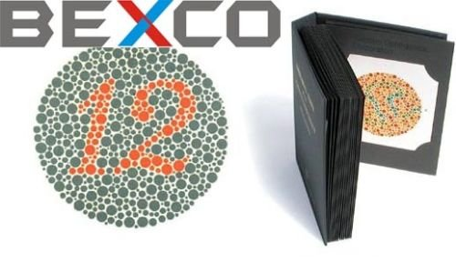 BEXCO 14 Plates Ishihara Tests Book Colour Blindness Eye Testing from BEXCO
