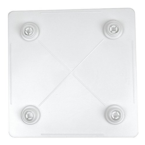 Bakery crafts square separator plate 6 inch hardware for Bakery crafts sps tier system