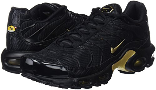 Nike Air black Gold Plus 022 Noir Chaussures mtlc Homme Gymnastique De Max FFgHwqr