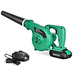 Every leaf blower is too big and noisy for your daily patio (deck/garage) cleaning?You still need a wall outlet to use leaf blower in your garden?That leaf blower in your house is too heavy for everyone to lift?Most cordless leaf blower only ...