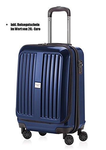 Hauptstadtkoffer Xberg 55cm Handgepäck dunkelblau hochglanz + 20,- Reisegutschein - Handgepäck, Koffer