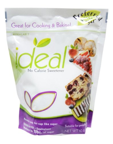 Ideal No Calorie Sweetener 10.6 Ounce Baking Bag from Ideal