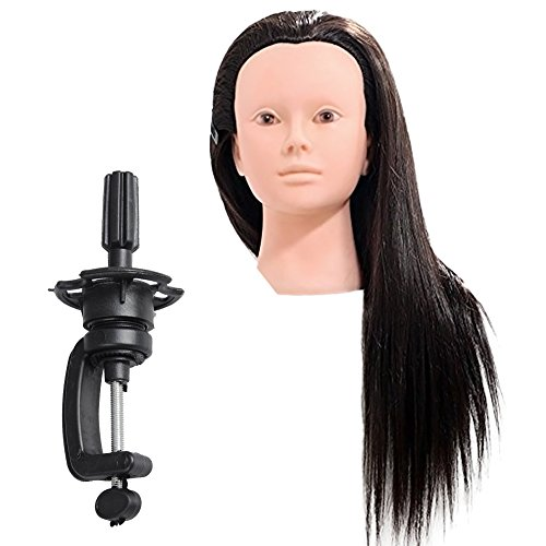 RoseSummer Salon Cosmetology Training Head Mannequin Real...
