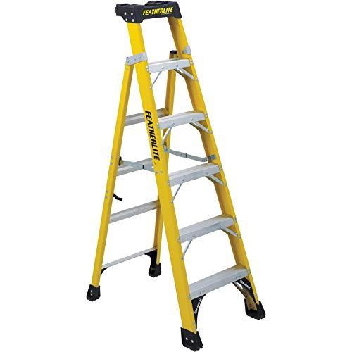 6′ Model Number 1A Fibreglass Cross Step Ladder