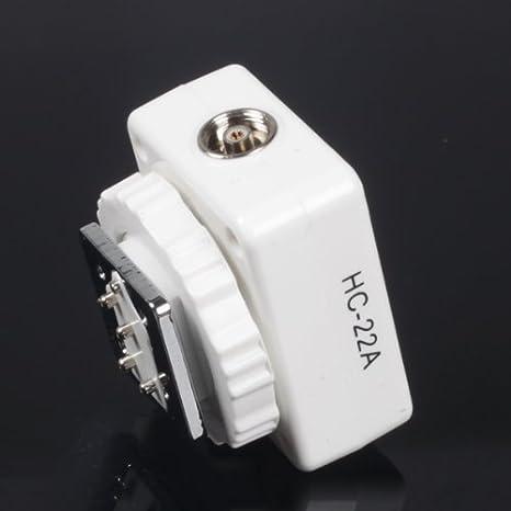 Mcoplus - adaptador de zapata de Flash de carga y sincronización ...