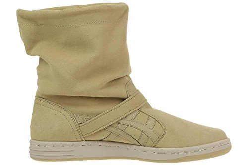 Asics Meriki suede Sneaker Lifestyle beige padded winter boots Beige
