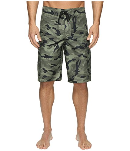 - Quiksilver Men's Manic 22 Inch Boardshort, Forest Night, 34
