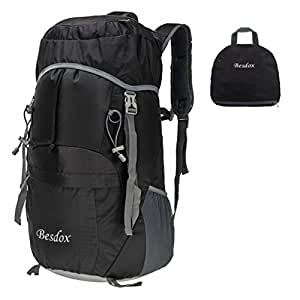 Amazon.com : Besdox Foldable Backpack 40L Lightweight