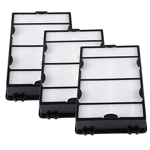HAPF600 True HEPA Filter 3 Pack Replace for Holmes B Filter - Compatiable with HAPF600D HAP615 HAP625 HAP650 HAP675RC HAP725 HAP750 HAP1625 HAP1650 HAP1725 HAP1750 Air Purifiers