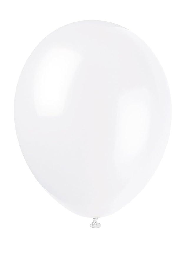 32 opinioni per Unique Party 80002- Palloncini in Lattice Bianco Lino da 30 cm, Confezione da 10