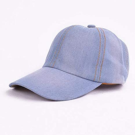 QOHNK Gorra de béisbol de Mezclilla para niños Sombreros de Color ...