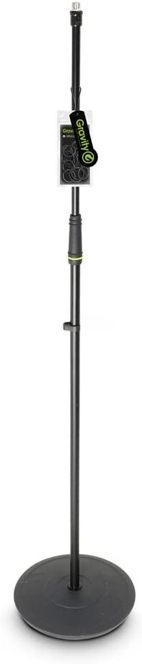 GMS23 Gravity MS 23 Microphone Stand with Round Base