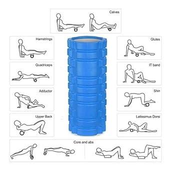 Rodillos de espuma para yoga, terapia física, punta de ...