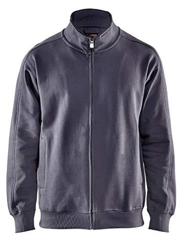 Blaklader 334910489400M Sweatshirt with Zipper, Size M, Grey by Blaklader (Image #1)