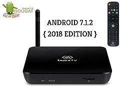 BLACK Buzztv XPL3000 2018 EDITION LATEST ANDROID NOUGAT 7.1.2 HD 4K QUAD CORE