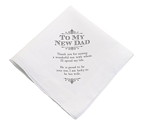Lillian Rose New Dad Wedding Gift White Keepsake (Father Of The Groom Gifts)