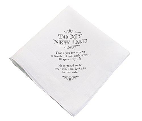 Lillian Rose New Dad Wedding Gift White Keepsake Hankie
