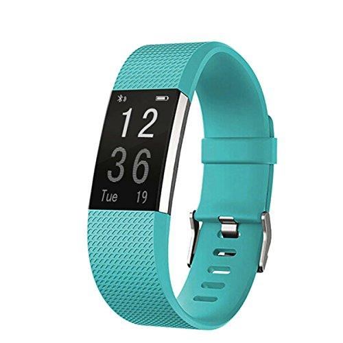 ircoo Smart Band Watchband Smartband Smartwatch Watch Heart Rate Blood Oxygen Pressure Monitor Pedometer Fitness Activity Tracker WristBand - 9 Colors