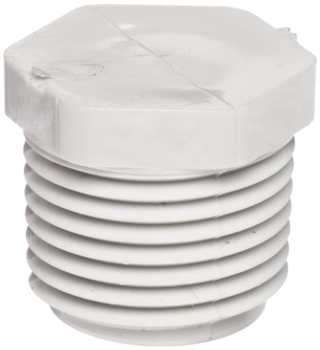 Spears 450 Series PVC Pipe Fitting, Plug, Schedule 40, 1