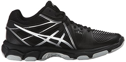 ASICS Women's Gel Netburner Ballistic MT Volleyball Shoe, Black/Silver, 7 M US by ASICS (Image #7)