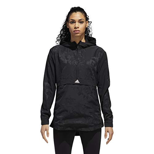 Nero All Donna Print Shell Athletics Giacca Adidas Over Id Woven zIRHvwq