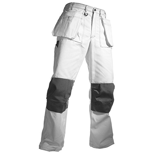 Blaklader Painter Pants White 42 32 by Blaklader (Image #1)