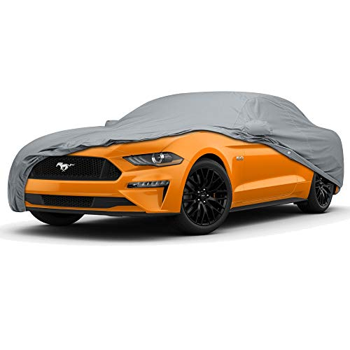 5 Layer Custom Fit Car Cover for Ford Mustang Model Year 2005-2018 ()
