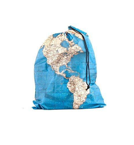 Kikkerland Around The World Travel Bags, Set of 4 ()