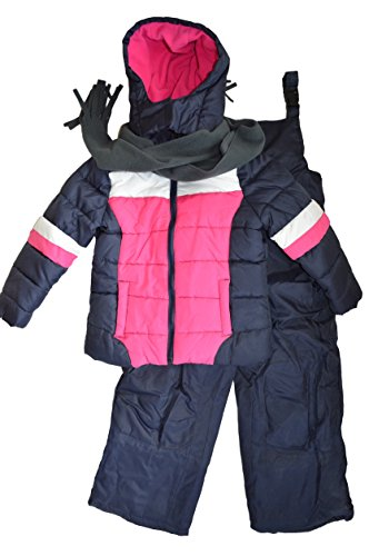 Snowsuits for Kids Girl's 3-Piece Fleece Lined Winter Sno...