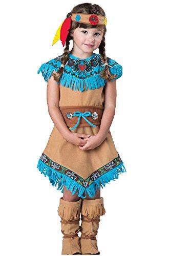 Fun World InCharacter Costumes Women's Indian Girl (Indian Costumes Toddler Girl)