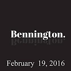 Bennington, Al Madrigal, Adam Ferrara, and Paul Morrissey, February 19, 2016