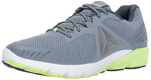 Reebok Men's OSR Harmony Road Running Shoe, Asteroid dust/Cloud Grey/Electric Flash/Smoky Indigo, 11 M US