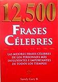 12500 frases Celebr, Sandy Gary, 9707750790