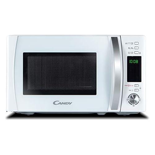 chollos oferta descuentos barato Candy CMXG 20DW Microondas con Grill y Cook In App 40 Programas Automáticos 700 W 20 litros Blanco