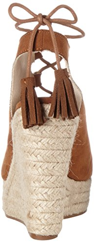 Buffalo Ladies 314550 Sandali Imi In Pelle Scamosciata Marrone (marrone 01)