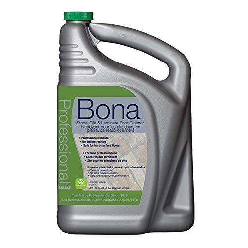 Bona Professional Pro Series Wm700018175 Stone, Tile and Laminate Cleaner Ready to Use, 1-Gallon Refill, ()
