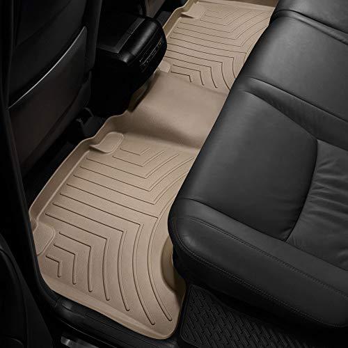 All Weather Weathertech FloorLiner Floor Mats for Lexus GX470-2003-2009-2nd Row - Tan