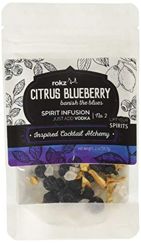 (Rokz Spirit Infusion Refill Pouch for cocktails - Citrus Blueberry)