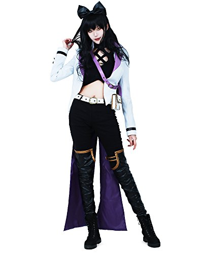 miccostumes Women's Volume 4 Blake Belladonna Cosplay Costume (Women m) White]()