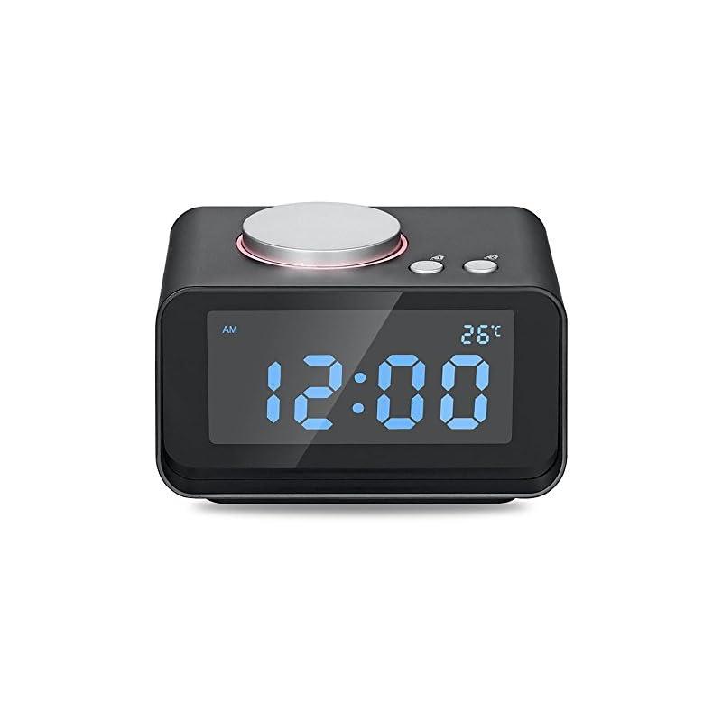 USB Alarm Clock, AKASO Radio Alarm Clock