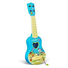 Ukulele Toys for Girls Boys,Beginner Classical Ukulele Guitar Educational Musical Instrument Toy for Kids, Home Game…