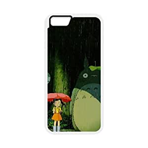 My Neighbour Totoro iPhone 6 4.7 Inch Cell Phone Case White NRI5123654