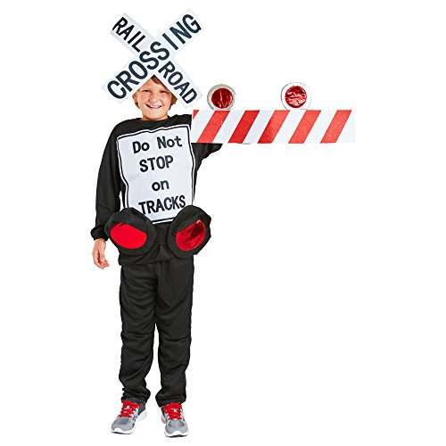 FunFill Kids Railroad Crossing Costume One Size -
