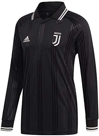 adidas Herren Juventus Long Sleeve Retro Jersey