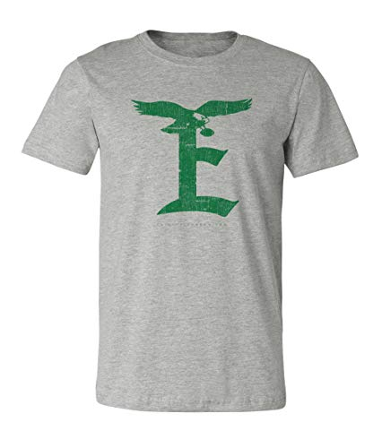 (36 and Oh! Philadelphia Football E T-Shirt Athletic Gray - Soft Style)
